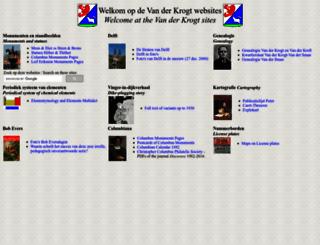 vanderkrogt.net screenshot