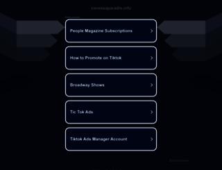 vanessaparadis.info screenshot