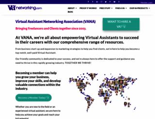 vanetworking.com screenshot