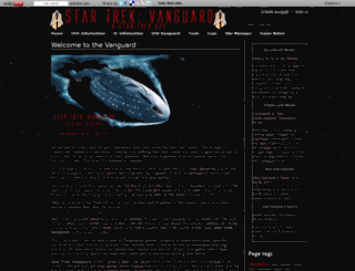 vanguard.wikidot.com screenshot