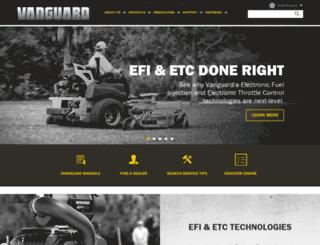 vanguardengines.com screenshot