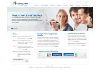 vanguardnetworks.com screenshot