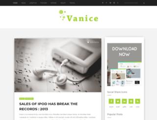 vanice-std.blogspot.in screenshot