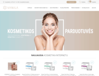 vanila.lt screenshot