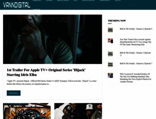 vanndigital.com screenshot