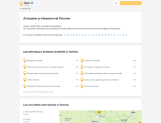 vannes.opendi.fr screenshot