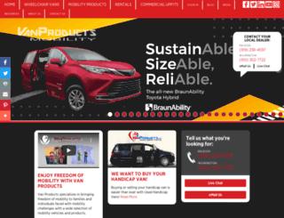 vanproducts.com screenshot
