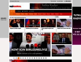 vanradikal.com screenshot
