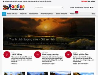 vantien.com screenshot