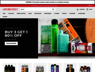 vape-street.com screenshot