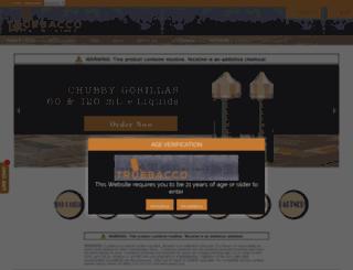vapetruebacco.com screenshot