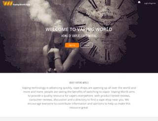 vaping-world.com screenshot