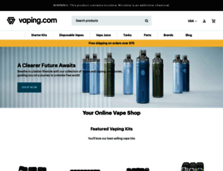 vaping.com screenshot