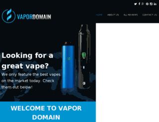 vapor-domain.com screenshot