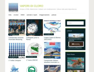 vaporidicloro.com screenshot