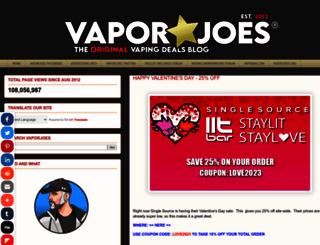 vaporjoe.blogspot.com screenshot