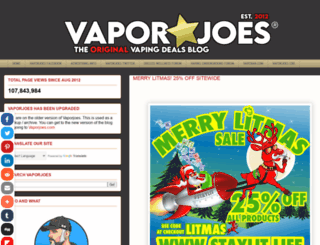 vaporjoe.blogspot.de screenshot