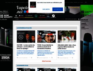 vapoteurs.net screenshot