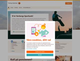 varbergssparbank.se screenshot