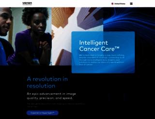 varian.com screenshot