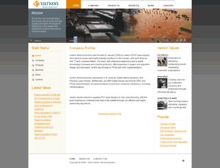 varkonsemi.com screenshot