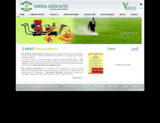 varshaagro.com screenshot