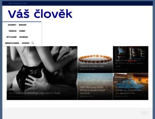 vasclovek.cz screenshot