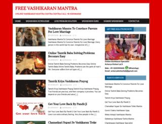 vashikaranonline.com screenshot