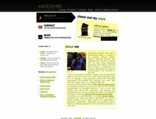 vasiljevski.com screenshot