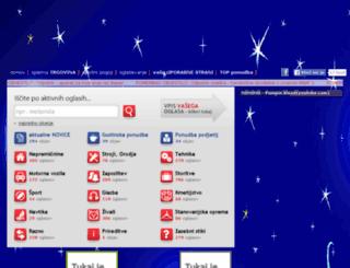 vasioglasi.si screenshot
