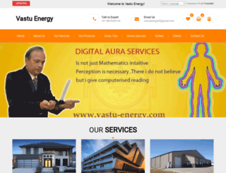 vastu-energy.com screenshot