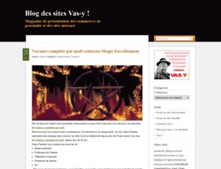 vasyblog.fr screenshot