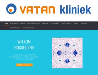 vatankliniek.nl screenshot