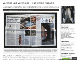 vaterrecht.wordpress.com screenshot