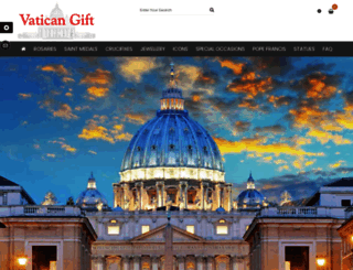 vaticangift.com screenshot