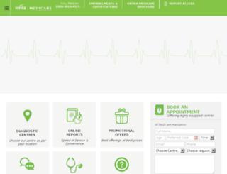 vatikamedicare.com screenshot