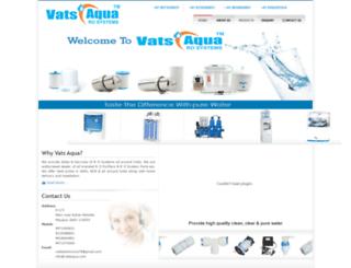 vatsaqua.com screenshot