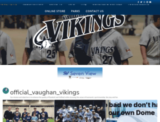 vaughanvikings.com screenshot