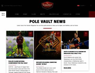 vaultermagazine.com screenshot