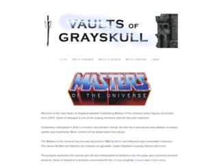 vaultsofgrayskull.co.uk screenshot