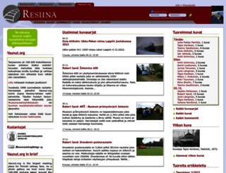 vaunut.org screenshot