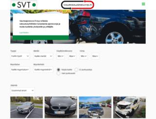 vaurioajoneuvo.fi screenshot