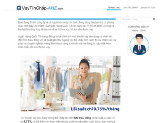 vaytinchap-anz.com screenshot