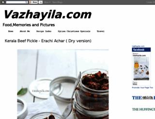 vazhayila.com screenshot