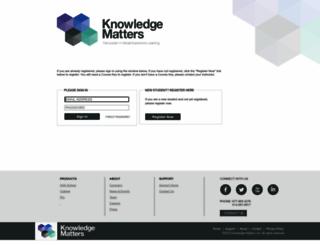 vb.knowledgematters.com screenshot