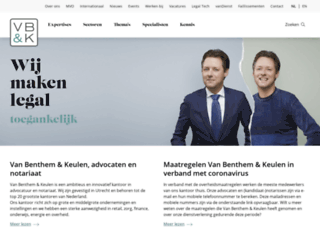 vbk.nl screenshot