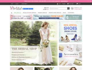 vbridal.net screenshot