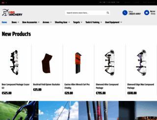 vbs-archery.nl screenshot