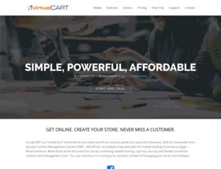 vcart.com screenshot