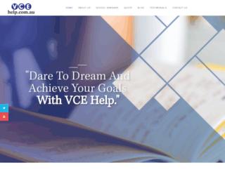 vcehelp.com.au screenshot